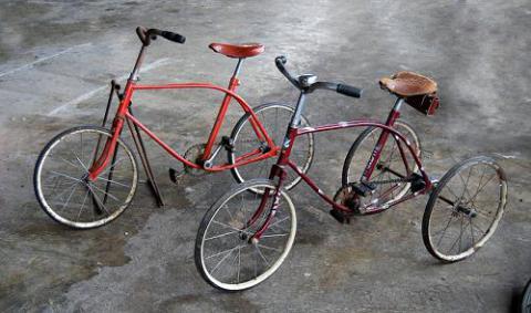 Трёхколёсный велосипед для детей своими руками